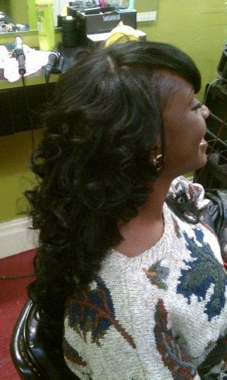 partial sew in hairstyles for synthetic hair partial sew in hair styles pinterest