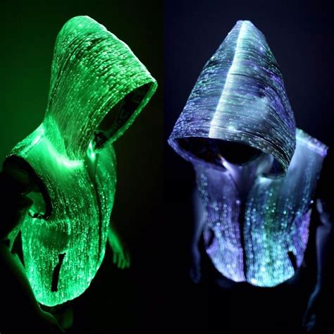 light up rave clothes light up glow hoodies for men edm clothes rave