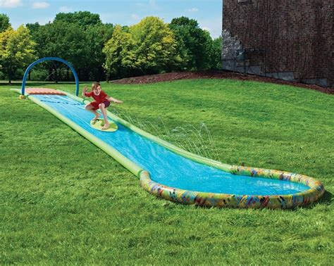 Backyard Slip N Slide by This Is How You Dominate The Cground This Summer Roadtrippers