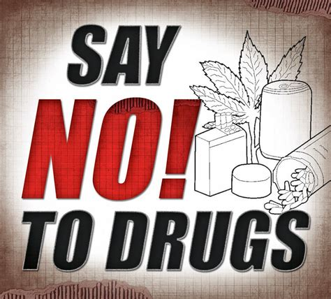 how to say no to drugs essay
