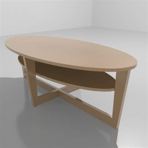 Ikea Vejmon Coffee Table Ikea Vejmon Coffee Table 3d Model Max Cgtrader