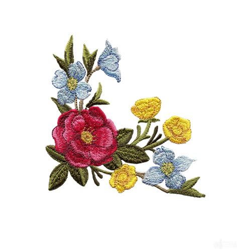 embroidery design in flower swnsdf123 splendid days floral embroidery design