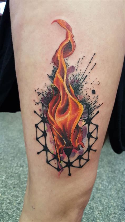 small flame tattoos 112 best watercolor tattoos for cool designs and
