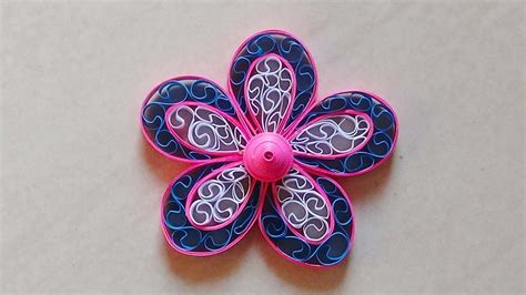 paper quilling flower for beginners diy crafts