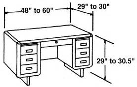 average computer desk depth typical furniture measurements for reference woodworking