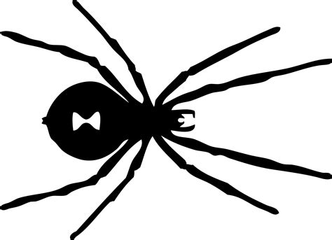 black spider coloring page widow 20clipart clipart panda free clipart images