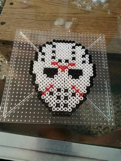 Kaos 3d Square Jason Vorhees 17 best images about perler on perler