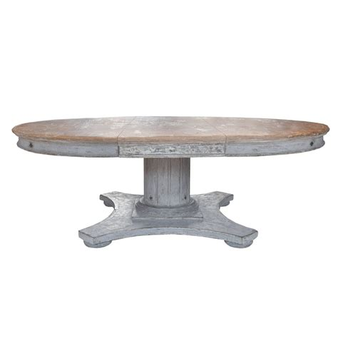 Wood Table With Leaf Italian Wood Dining Table With Leaf At 1stdibs