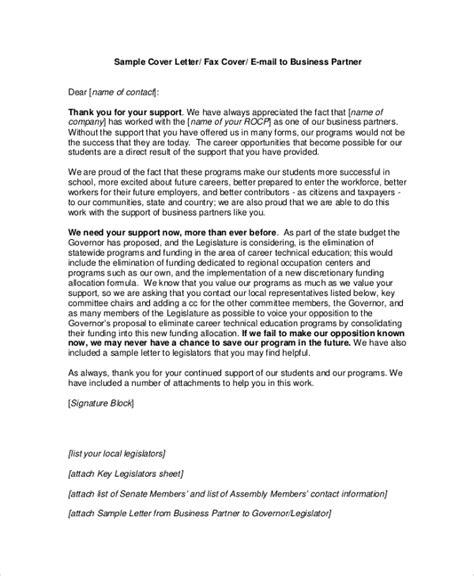 Cover Letter Finance Business Partner Printable Free Business Partner Email Cover Letter