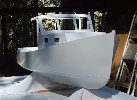 plywood boat bottom paint building lobster boat