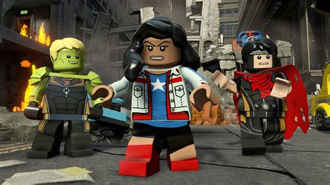 Ps3 Lego Marvels Marvel Avenger lego features openly superheroes in a gamespot
