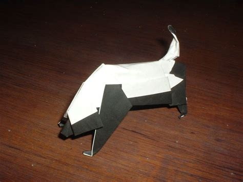 Origami Badger - yeah honey badgers