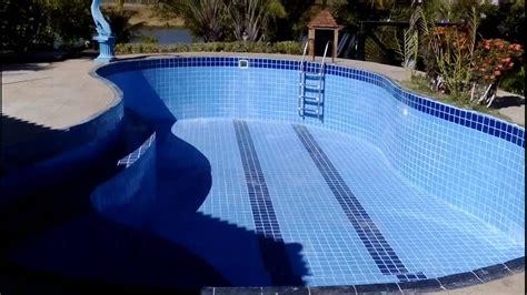 piscinas de azulejo  pastilhas youtube