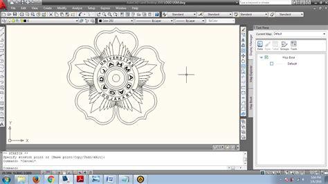 Tutorial Logo Ugm | tutorial membuat logo ugm pada auocad asli anak