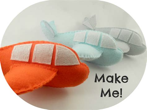 pattern for felt airplane maisie moo make your own felt airplane pdf pattern by