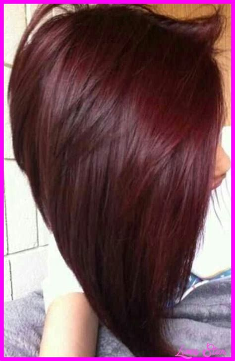 dark red color hair cut auburn red hair color chart livesstar com