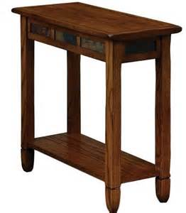 mission style accent table mission style side table craftsman console end living room