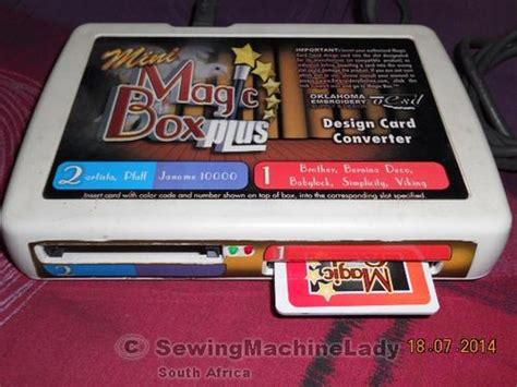 Mini Magic Bx embroidery machines oesd quot mini magic box plus quot converter box no cards included was sold for