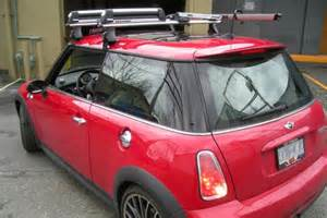 Thule For Mini Cooper Mini Cooper Dr Thule Rapid Traverse Black Aeroblade Roof
