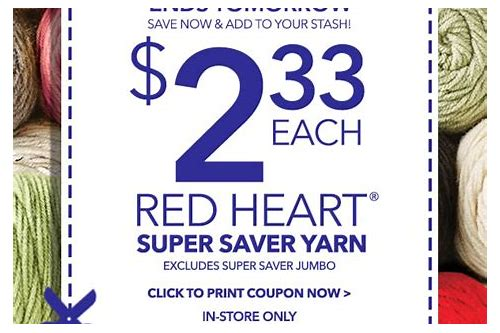 red heart coupon