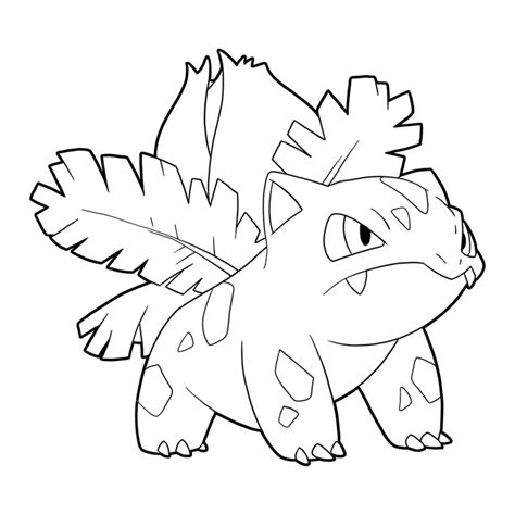 pokemon coloring pages ivysaur pokemon ivysaur drawing images pokemon images
