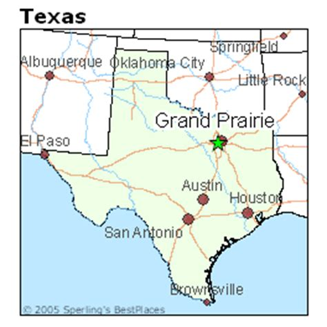 grand prairie texas map best places to live in grand prairie texas