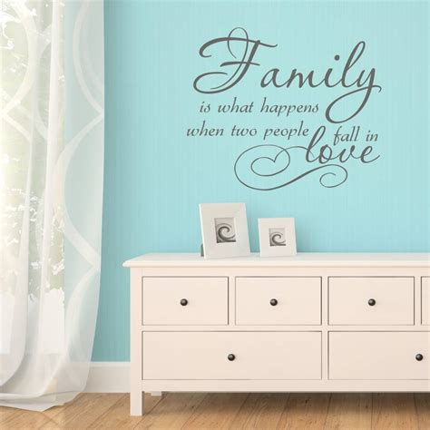 notonthehighstreet wall stickers family quote vinyl wall sticker by mirrorin notonthehighstreet