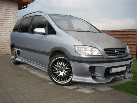 opel zafira 2002 tuning opel zafira tuning by flamingline on deviantart