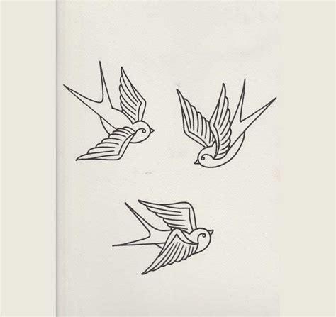 dibujos de golondrinas para graduacion c 243 mo dibujar una golondrina como las usadas para tatuajes