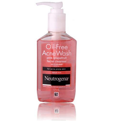 Neutrogena Oil Free Acne Wash Pink Grapefruit Facial