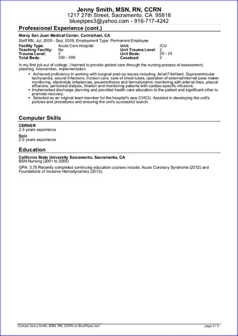 Travel Resume Objective Exles Registered Resume Resume Template 2017