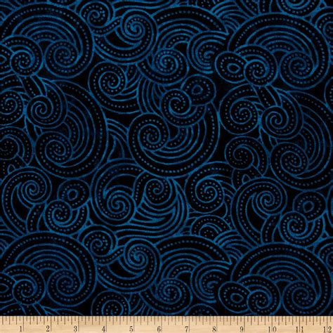 essential dotty waves 108 quot wide quilt back navy discount