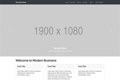 Free Bootstrap Themes Templates Snippets And Guides Start Bootstrap Modern Bootstrap Templates