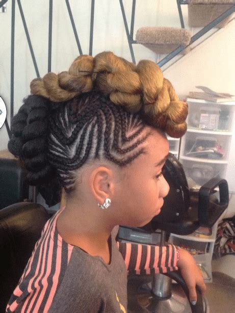 french braid mohawk styles for blacks hottest natural hair braids styles for black women in 2015