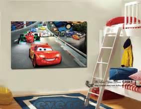 Disney Cars Home Decor 40x60x3cm Disney Pixar Cars Canvas Prints Wall Nursery Decor Framed Ebay