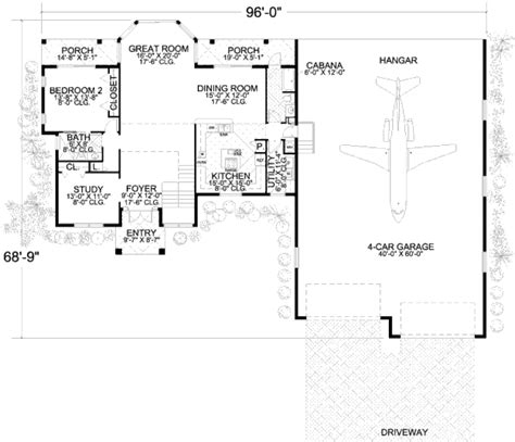 288 square feet mediterranean style house plan 3 beds 4 baths 2905 sq ft