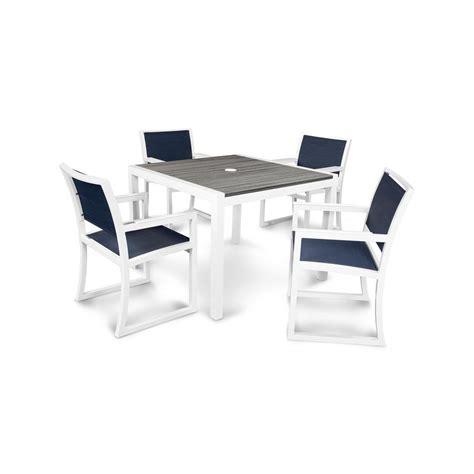 trex outdoor furniture parsons 5 plastic outdoor