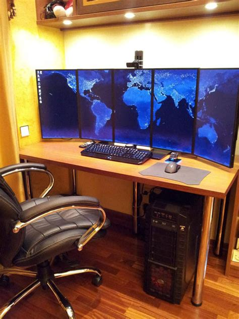 Computer Desk Setup 18 Really Amazing Computer Stations 171 Twistedsifter