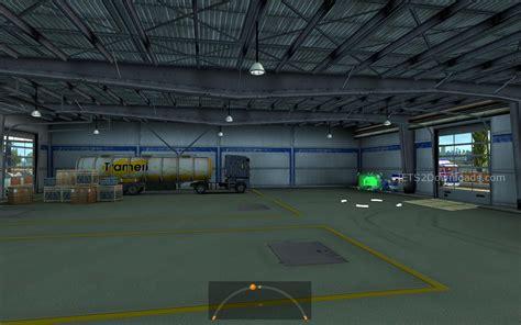 large garage large garage spt service ets2 version 1 22 xx large garage spt service euro truck simulator 2 mods