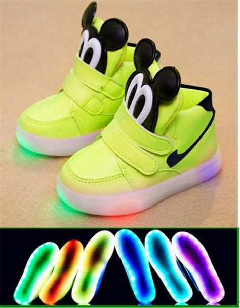 Mickey Mouse Light Up Shoes by The World S Catalog Of Ideas