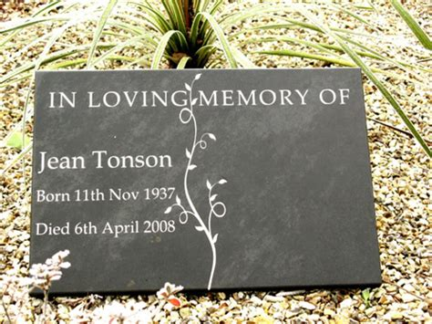 garden memorial stones for people s ashes and graves uk