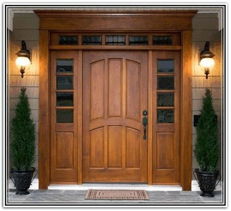 Exterior Door With Transom Craftsman Style Entry Doors With Sidelights And Transom Front Door With Sidelights And Transom