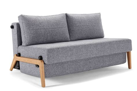 Cubed Sofa Bed Cubed 140 Wood Sofa Bed From Innovation Denmark