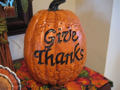 Thanksgiving Pumpkin Decorations by Creative Ideas By Cheryl Thanksgiving Decoration