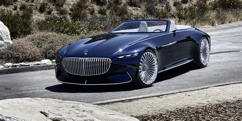 mercedes maybach vision  cabriolet revealed