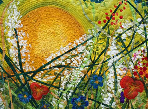 Quilt Artist by Silk Painted Quilt Everything The Sun Barbara