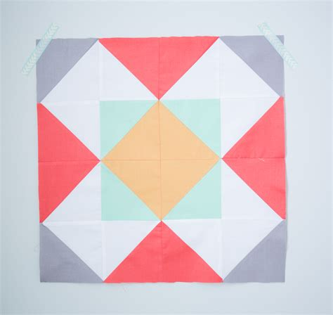 Windmill Quilt Block Pattern by Quilt Block Of The Month The Windmill Quilt Block