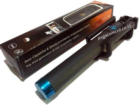 tongsis lipat kabel hitam 3 jogjacomcell co id