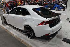 2014 Lexus Is350 Intake Sema 2013 2014 Is350 F Sport In The Seibon Booth