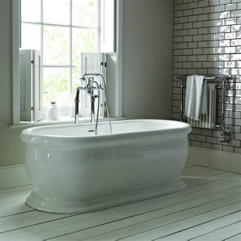 bathroom supplies derry heritage derrymore 1745mm double ended roll top acrylic